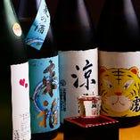 厳選!季節の日本酒 週替わりでご用意