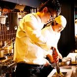 料理人が追求した五感で楽しむ料理をご提供いたします