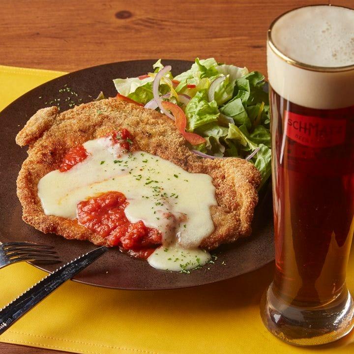 ビールと相性◎絶品ドイツ料理に舌鼓