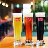 オリジナルビールは多彩なラインップをご用意