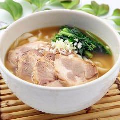 3.チャーシュー刀削麺