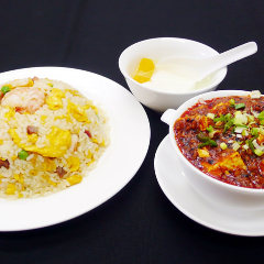 ミニ麻婆豆腐&炒飯セット