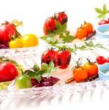 こだわりトマトの盛り合わせ【千葉県】