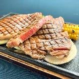 黒毛和牛のリブロースステーキ