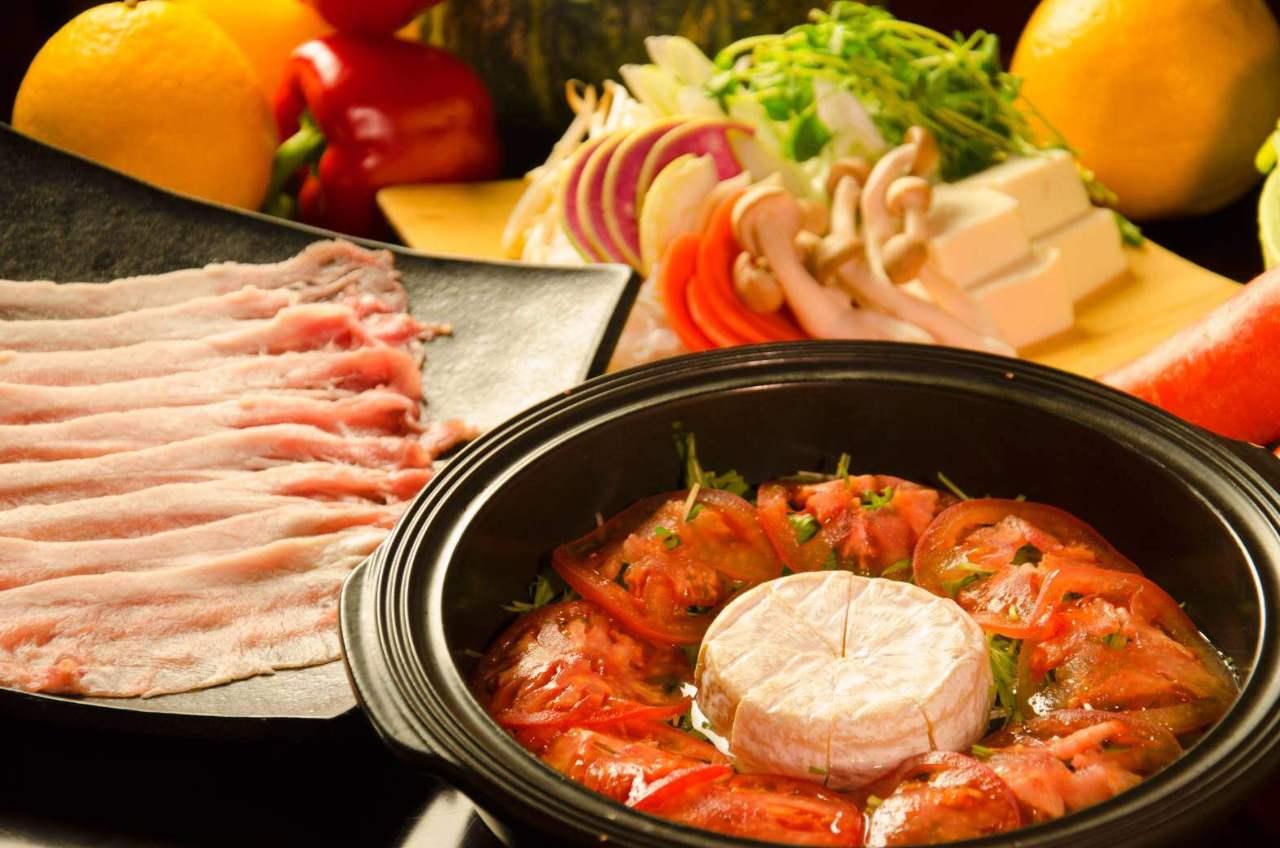 大人気♪農家の台所イチオシのカマンベールトマト鍋!