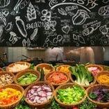 名物!農家の台所サラダ