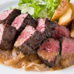 【テイクアウト】牛サガリのサイコロステーキ