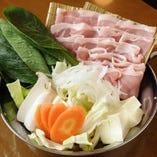 特撰豚バラ鍋