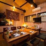 【中2階】お座敷完全個室(4名様~最大10名様)◆プライベート空間で楽しいひと時を