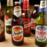 世界各国のビールをご用意!