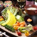 面白野菜いっぱい!鎌倉野菜のバーニャカウダ