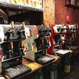 ビールは国産クラフトビールを中心に最大20種!!
