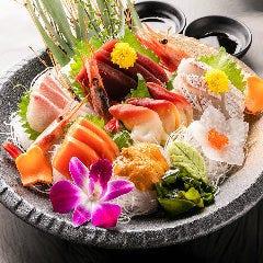 鮮魚の五種盛合せ