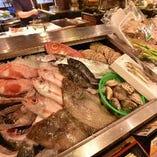 魚が満喫できる魚樽のコース料理! 飲放付4400~6600円!