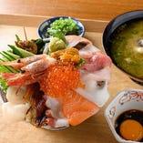 《魚樽の本気》 海丼
