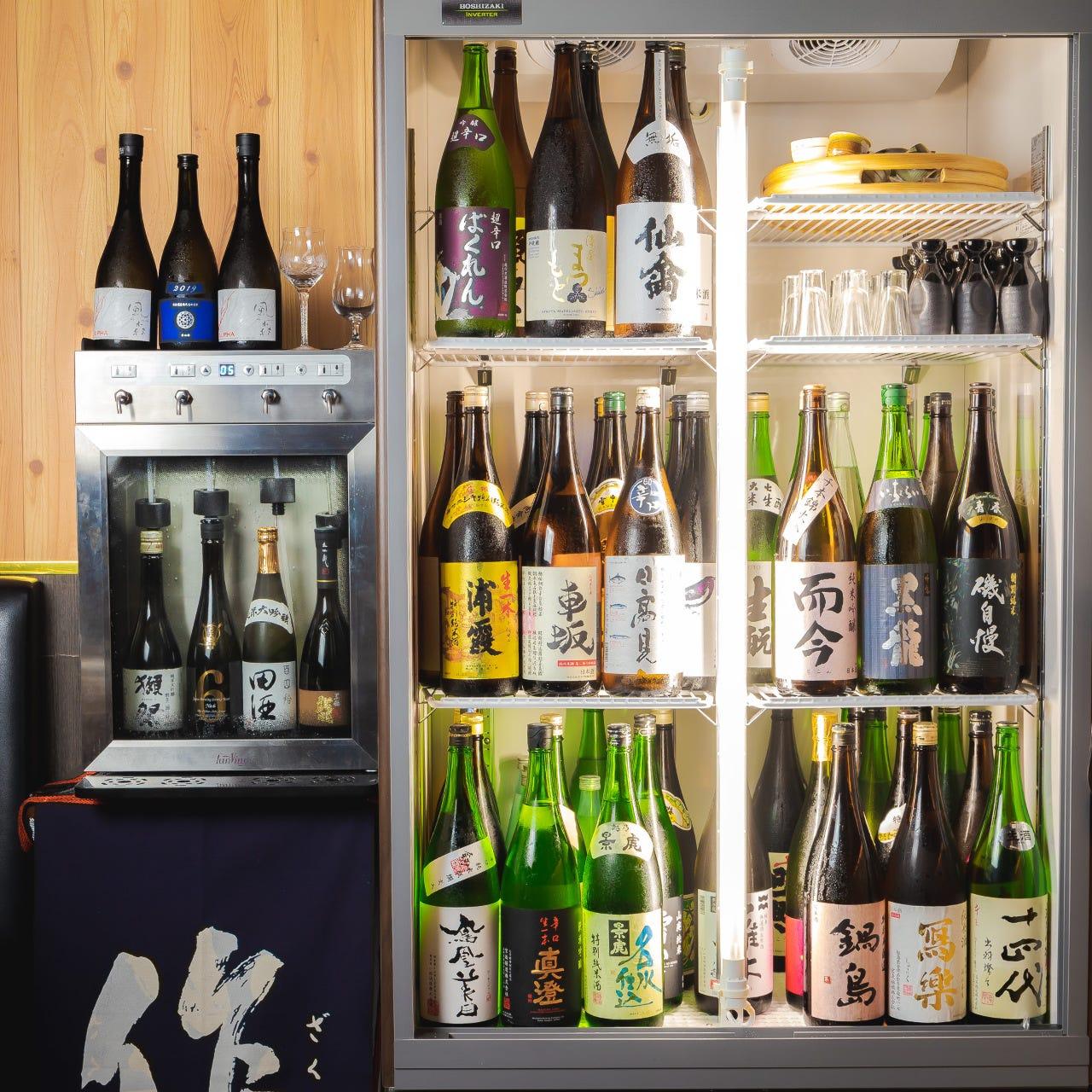 48種の日本酒が全品380円!