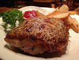 若鶏のマスタードステーキ