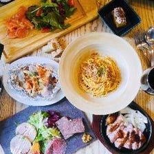 【個別盛り】<お料理のみ>サルコース 全7品 2,780円(税込)