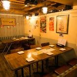ベンチソファーテーブル席(~6名様×2)