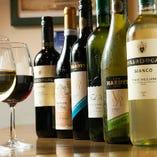 魚料理に合うワインを中心に厳選10種以上ご用意!
