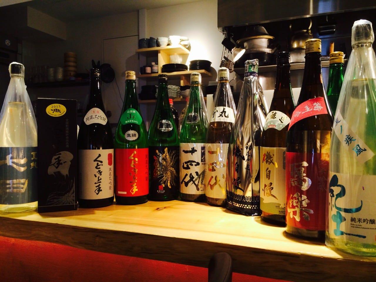 プレミアから人気の日本酒まで!