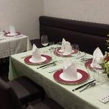 接待・宴会・会食に最適な落ち着きのある空間個室。最大8名様までご利用可能です。