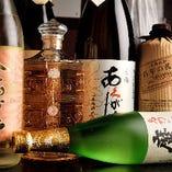「魔王」や「百年の孤独」、「萬膳」など銘酒を揃えております