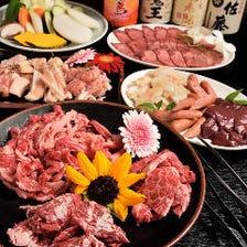 【体育会系コース】◇全12品 100分飲み放題付◇肉・肉・肉尽くし!飲み会・焼き肉・各種宴会・学生さんに