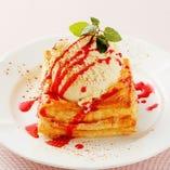 お料理優先セレンディップの☆女子会コース☆アップルパイのデザート付3600円