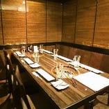 【完全個室・テーブル席】プライベート空間で大切な方とお食事を。4~6名様