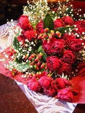 心を込めて花束を。