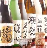 日本酒もお料理に合うものをご提案いたします
