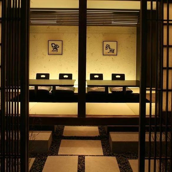 プライベートを約束する個室