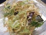 旬野菜のかき揚げ