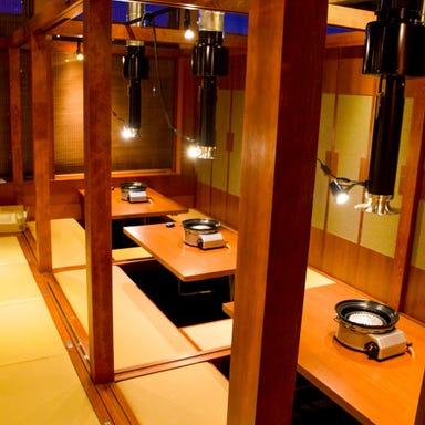 焼肉×赤から鍋 赤から 龍ケ崎店 店内の画像