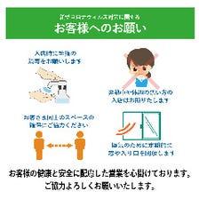 衛生面の対応