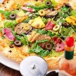 野菜たっぷり農園ピザ