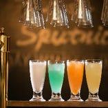 女子会コース限定特典として、ノンアルカクテルも飲み放題にてお楽しみいただけます!