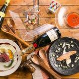 当店の定番!旬の食材を堪能『スタンダードコース』 宴会 飲み会 女子会