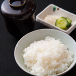 自社生産丹波新米(キヌヒカリ) 白ご飯