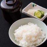 お米は『丹波米きぬひかり』を自社生産しています