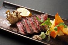 にいがた和牛のステーキ
