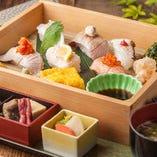 <数量限定>季節の六種の炙り寿司