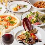 様々な名物料理を堪能できる、宴会に最適なコース料理は5種!