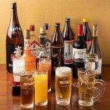 ●飲み放題メニュー● 限定日本酒以外すべてのドリンク飲み放題