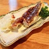焼きタラバ蟹 破格の900円