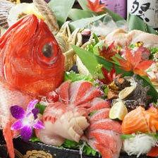 磯銀自慢の銘魚料理★