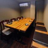 【5~8名様/テーブル個室】限定一部屋のVIP空間!会話も弾む宴会のひと時を