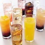 アルコール飲み放題(生ビールあり)