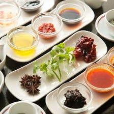 自家製『醤』を使用した本格中国料理